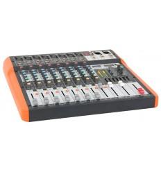 MX802 MESA DE MEZCLAS 8 CANALES USB & BLUETOOTH