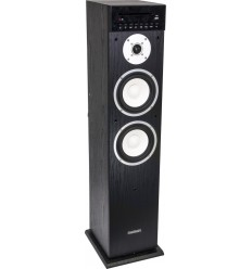 MAD-CENTER200CD-BK COLUMNA CENTRAL AMPLIFICADA CON