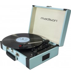 MAD-RETROCASE-BLU MALETIN GIRADISCOS CON BLUETOOTH