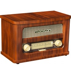 MAD-RETRORADIO Radio vintage autonoma bluetooth