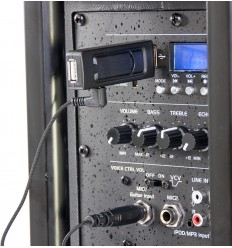 WM-USB SISTEMA DE MICROFONO UHF VIA USB