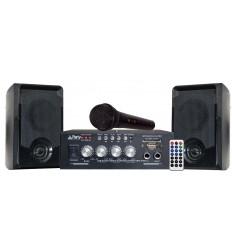 PARTY-KA100 Conjunto Karaoke con USB/SD y BLUETOOT