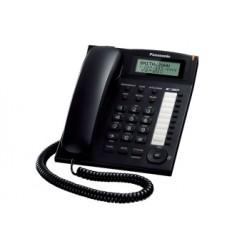 TELEFONO SOBREMESA MANOS LIBRES PANASONIC NEGRO