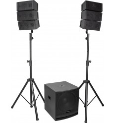 CUBE15A-ARRAY 2.1 SOUND SYSTEM WITH 15'' SUBWOOFER