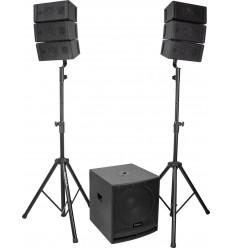 Equipo Sonido CUBE15A-ARRAY 2.1 de Ibiza Sound