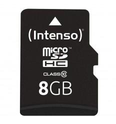 TARJETA INTENSO MICRO SDHC 8GB CLASS10