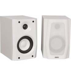KODA4-WH Pareja de altavoces hifi en color blanco