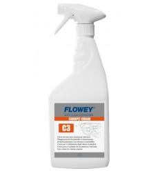 Crema limpieza interiores satinado 750ml Flowey