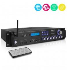 PYLE P2001BT Amplificador Híbrido Bluetooth 2000W