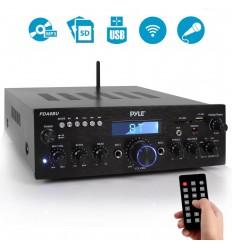 PYLE PDA6BU - Amplificador Hifi con 200W