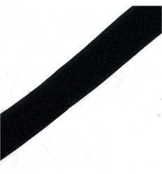 Velcro Negro Liso 30mm x 25m Precio por 1 mts.