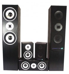 E1004BL Altavoces home Theater 5.0 Negro