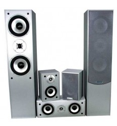 E1004SI ALTAVOCES HOME THEATER 5.0 SILVER