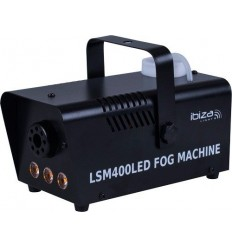 LSM400LED-BK MINI MAQUINA DE HUMO 400W CON 3 LED N