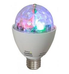 ASTRO-MINI EFECTO DE LUZ ROTATIVO DE 4 LED RGB