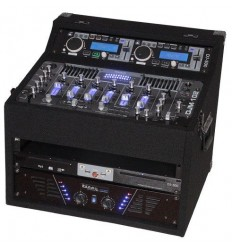 DJ1000MKII CONJUNTO MOVIL AMPLIFICADO 2X480W