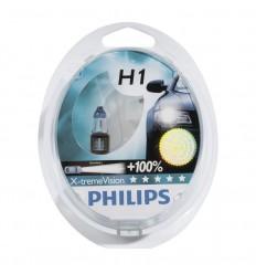 Jgo lámparas philips h1 x-trem vision