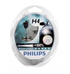 Jgo lámparas philips h4 x-trem vision