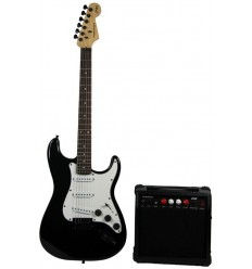 MADISON-STRAT10BL Pack de guitarra electrónica