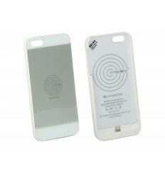 Inbay Funda de carga iPHONE 5/5S BLANCA/WHITE