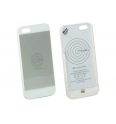 Inbay Funda de carga iPHONE 5/5S BLANCA/WHITE