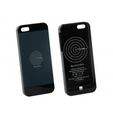 Inbay Funda de carga IPHONE 5/5S NEGRA/BLACK