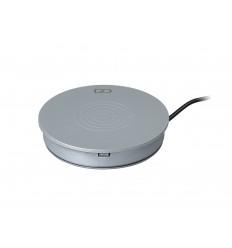 Inbay Base empotrable para mesa PLATA/SILVER (aguj