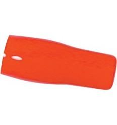 Funda PVC Roja cable 25mm 10 pcs