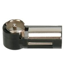 Adaptador antena DIN Hembra - ISO Macho 90 1 Pieza