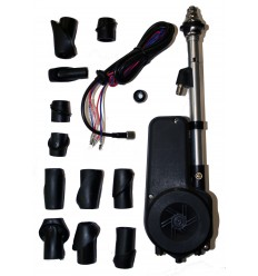 Antena automática con Kit 12 Cabezales Negra