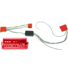 AUDI SEAT SKODA VW 9806 conector Mini ISO altavoces activos 4X25W