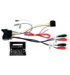 AUDI 06 conector Fakra-RCA con amplificador ORIGEN