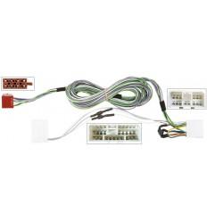 CHRYSLER Voyager 0107 con amplificador original a auto radio aftermarket conector ISO
