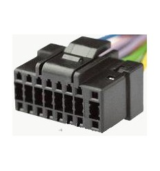 ALPINE 16 PIN Black cable Original Radio ISO
