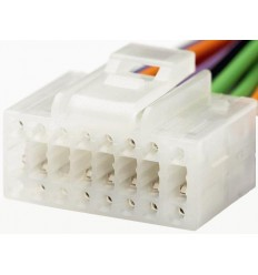 ALPINE 16 PIN White cable Original Radio ISO