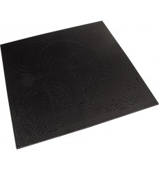 Placa ABS negra para recortar 280 x 150 mm