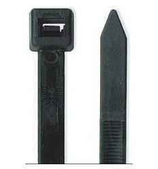 Brida 200x3,6mm Negra 100 pzas