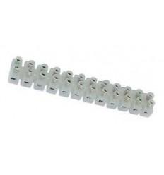 Regletas Blancas 2x12 10 tiras 3 mm