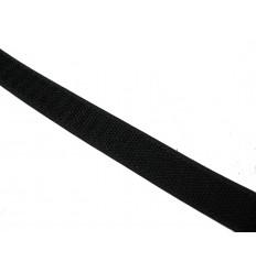 Velcro Negro Macho 20mm x 25m Precio por 1 mts.