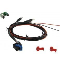Cable extensión puerto USB-AUX FIAT / ALFA ROMEO / LANCIA / ASTON MARTIN Modelos con