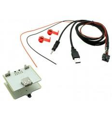 Cable extensión puerto USB-AUX FIAT 500L 12+