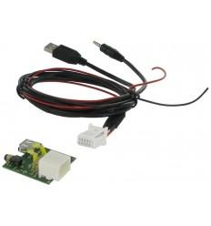 Cable extensi¢n puerto USB-AUX HYUNDAI Santa F' 07