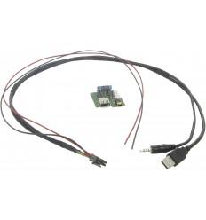 Cable extensión puerto USB-AUX KIA Sportage 1013 - Picanto 10 - Carens 1013 - Rio