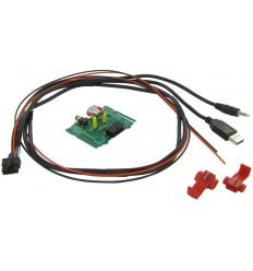 Cable extensión puerto USB-AUX KIA Soul 1213