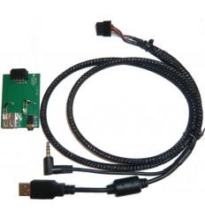 Cable extensión puerto USB-AUX KIA Ceed 0612