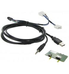 Cable extensión puerto USB-AUX SSANGYONG Korando 1013
