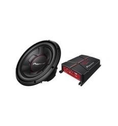 kit Amplificador + woofer Pioneer GXT-3706-SET