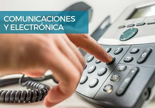 Comunicaciones y electrónica